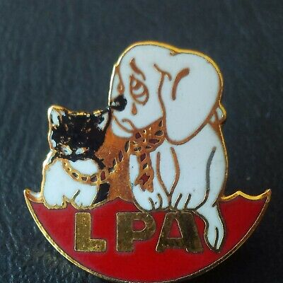 pin badge pin's chat cat animal animaux dog chien association