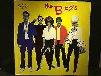 The B-52's Selftitled Vinyl LP (1979 Island Records ILPM 9580) ORIGINAL PRESSING