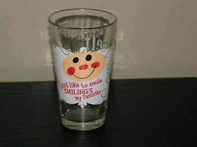 Elf The Movie Draft Beer Glass - I just like to Smile EUC