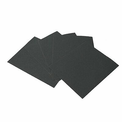SANDING SHEETS Wet/Dry Silicon Carbide Waterproof Sandpaper Grits 9x11 USA