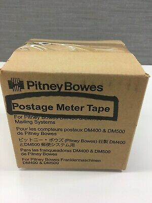 Pitney Bowes Postage Meter Adhesive Tape (3 rolls)