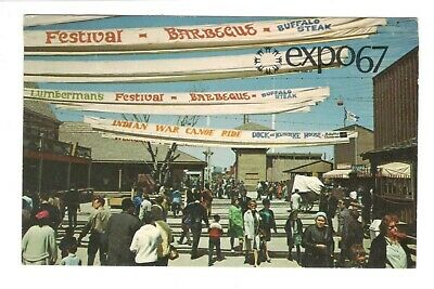 In Fort Expo67 Montreal Canada Vintage Postcard AN49