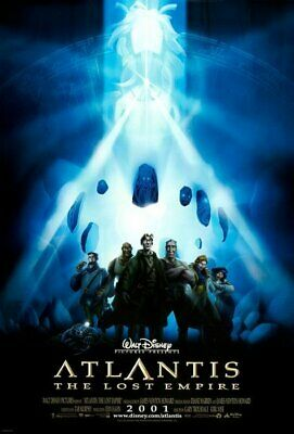 Atlantis (Double Sided International) (2001) Original Movie Poster