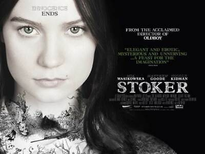 Stoker Poster Double Sided Style B (Quad) (2013) Original Movie Poster