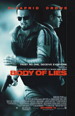 Body Of Lies Original Movie Poster