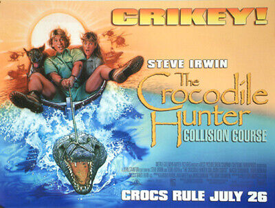 Crocodile Hunter (Single Sided) Original Movie Poster