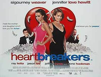 Heartbreakers (Double Sided) Original Movie Poster