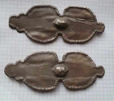 Pair of Roman silver brooches/ сlasps/ fibula