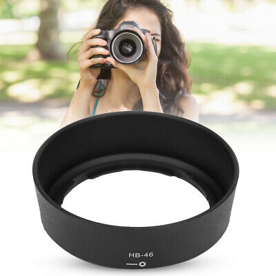 HB-46 Camera Mount Lens Hood Compatible for Nikon NIKKOR AF-S 35mm/1.8g DX Lens