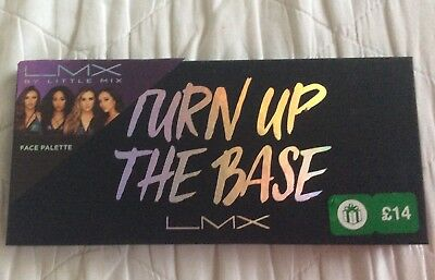 LMX By Little Mix Turn Up The Base Face Palette.New,sealed.