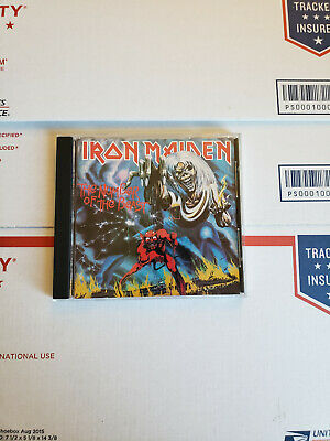 Iron Maiden The Number Of The Beast 1982/1987 CD Awesome Hard Rock Like New