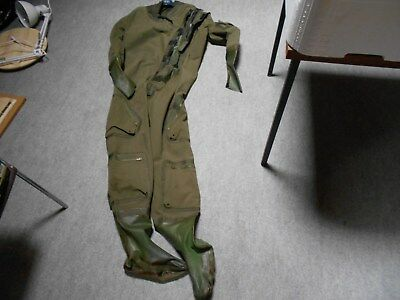 US NAVY  coverall flying  anti exposure MK5A + LINER