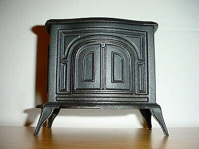 Antique Vermont Casting Stove Bank Still Bank