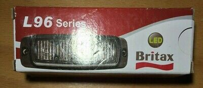 Britax L96.00.LDV LED Strobe Flashing Amber Lighthead Lamp 12 / 24 V (X1 Unit)