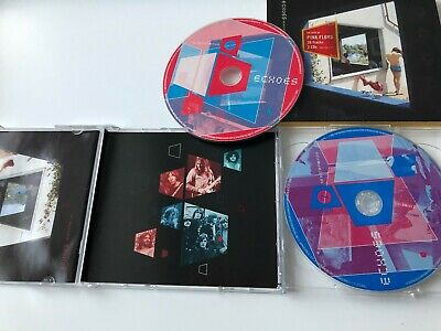 Pink Floyd - Echoes - The Best Of Pink Floyd - 2 CD Picture Discs in Slipsleeve