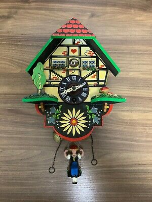 Vintage Swiss Chalet, Cuckoo Style Clock