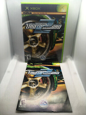 Need for Speed Underground 2 - Replacement Case and Manual ONLY - Xbox
