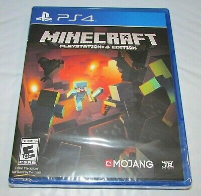 Minecraft for Playstation 4 Brand New! Factory Sealed! Fast Shipping!