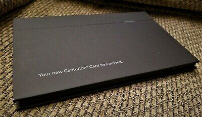 American Express AMEX Centurion Black Card Replacement Holder