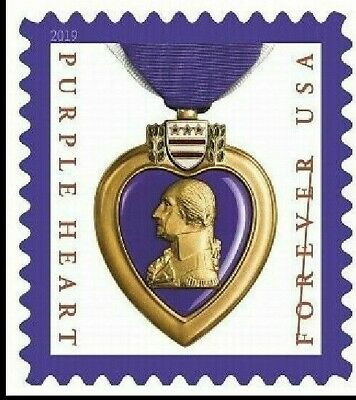 5419 Purple Heart Medal 2019 US Single MNH (Free Shipping) Ships After Oct 10