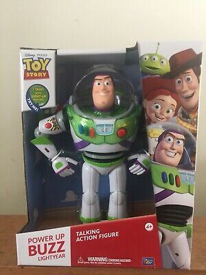 Disney Toy Story Power up Buzz Lightyear 12 inch Talking Action Figure
