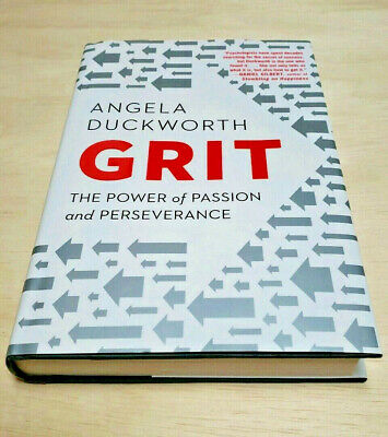 Grit : The Power of Passion and Perseverance Book by Angela Duckworth (2016,