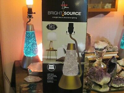 "52 oz. Lava Lamp Glitter Motion Lamp, For Reading & Soothing 19"" Tall"