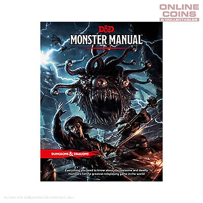 Dungeons and Dragons Monster Manual - Hard Cover Book