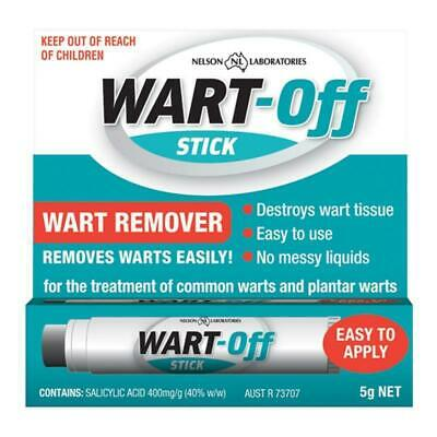 ^ Wart-Off Stick Wart Remover 5G For Treatment Of Common And Plantar Warts *Mvc*