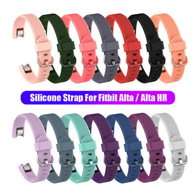 Wristbands Soft Silicone Watch Band Strap for Fitbit Alta / Alta HR Bracelet