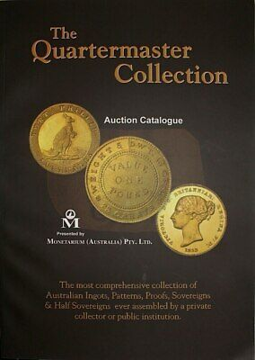 Quartermaster Collection Auction Catalogue Softcover 2009