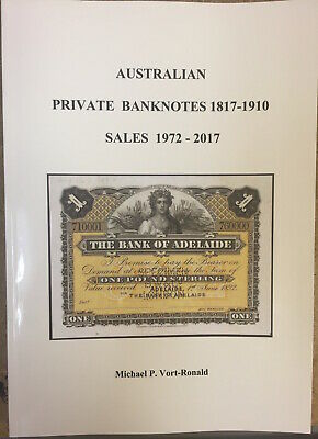 Australian Shinplaster & Calabash Notes Softcover Book by Mick Vort Ronald