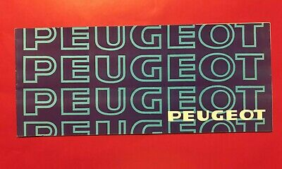 ►Peugeot Catalogue / Brochure 1978 - 104 / 304 / 504 / 604
