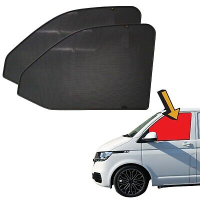 Tailor Made VW TRANSPORTER T6 window PRIVACY SHADES bespoke blinds CAMPERVAN