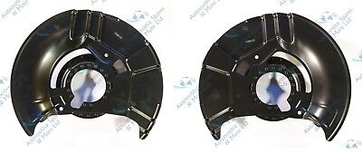 BMW 3 Series E36 Z3 E36 New 2 Front Brake Disc Dust Cover Back Plate Shield Pair