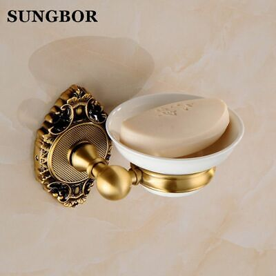 Soap Dishes For Showers Wall Mounted Antique Bronze Soap Holder Bathroom Tools