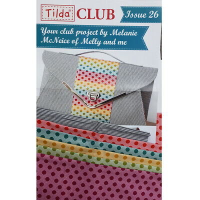 Tilda Club 09/19 Issue 26 Quilting Sewing Fabric Issue Craft Pattern Kit New
