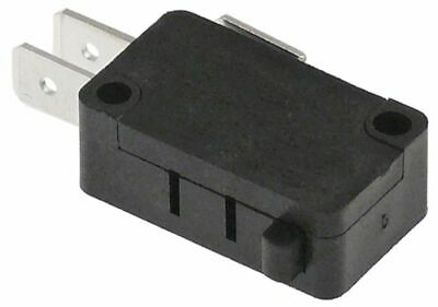 Microswitch With Plunger 250V 10A 1Co Connection Male Faston 6.3Mm L 28Mm