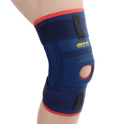 Adjustable Knee Support Open Patella Stabilising Brace Sleeve Running Arthritis