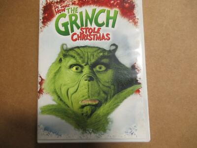 Dr Seuss How The Grinch Stole Christmas with Jim Carrey DVD SEALED