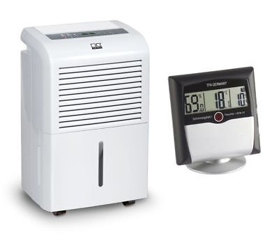 Remko Etf 360 Luftentfeuchte Fan + Comfort Control Thermo-Hygrometer with Alarm