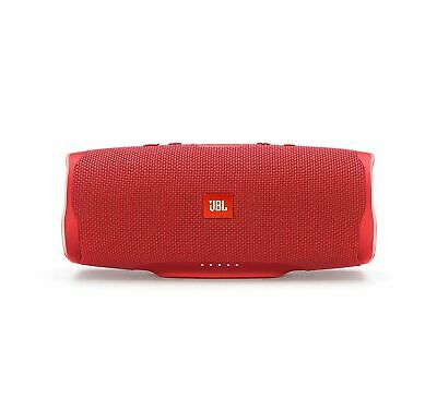 JBL Pair Charge 4 Portable Waterproof Wireless Bluetooth Speaker - Red