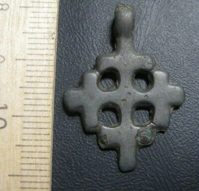 The knights Templar cross  Ancient pendant Ancient icon Crusaders  100% original