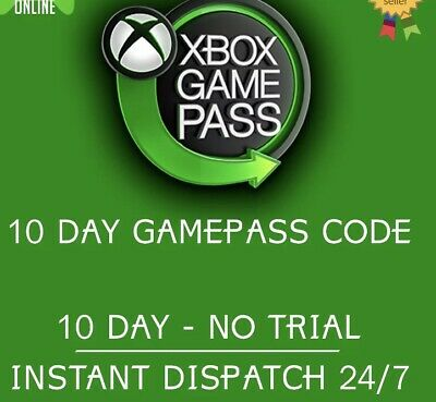 Xbox Game Pass 10 Days Code
