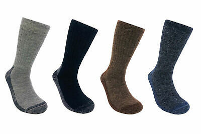 2 Pack Alpaca Wool Socks for Men & Women - Warm & Thick Outdoors Hiking