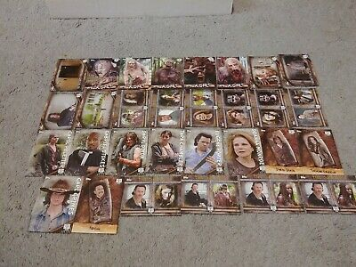 2017 Topps The Walking Dead Insert Trading Card Lot Of 30 Cards Rick Grimes++