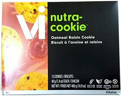 Body By Vi Nutra-Cookie™ Oatmeal Raisin 480g x12