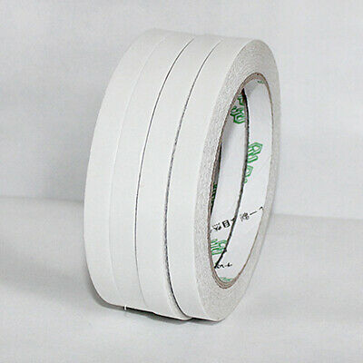 Double Sided Clear Sticky Tape Diy Strong Craft Adhesive 5Mm 12Mm 24Mm