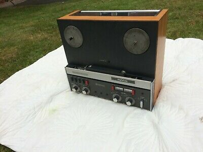 Rare Revox A-77 reel to reel  with Dolby tape player Vintage + 70 reels/ remote