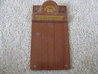 Vintage S&H Green Stamps Metal Clip Board